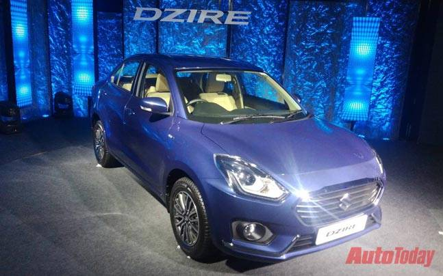 Maruti Suzuki S All New Compact Sedan Dzire Launched In India At Rs