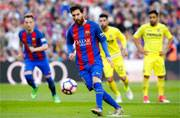 Lionel Messi brace sinks Villarreal as Barcelona and Real Madrid stay locked at top