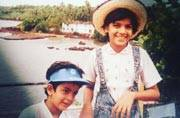 Can you recognise the TV actor in this throwback picture?