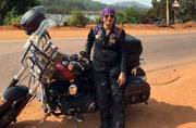 This woman solo-travelled 2000 km in India on her Harley Davidson