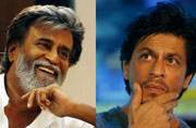 What Shah Rukh can learn from Rajinikanth. Case in point, the Brad Pitt meeting