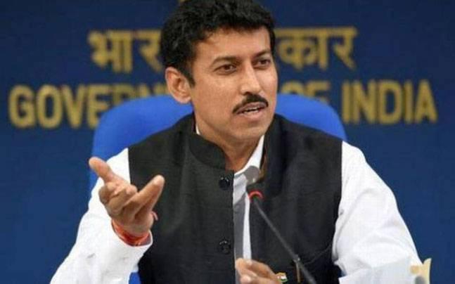 Rajyavardhan Singh Rathore.