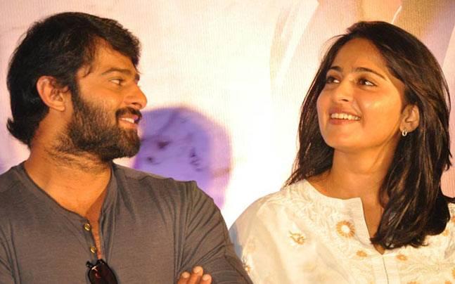 Prabhas and Anushka Shetty