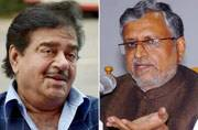 As Shatrughan Sinha comes out in support of Lalu Prasad Yadav, Sushil Modi calls him BJP's 'shatru'
