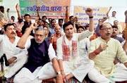 BJP had sidelined Sushil Modi. He returned with his time-tested strategy: target Lalu Prasadi