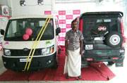 This 3 wheeler 'Scorpio' auto driver from Kerala got a surprise from Anand Mahindra; thanks to Twitter