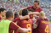 Francesco Totti's final match ends in celebration as Roma reach Champions League