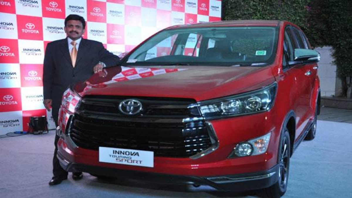 Toyota Innova Touring Sport launched in India at Rs 17 79