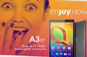 Alcatel A3 10 tablet launched in India at Rs 9,999, available on Flipkart