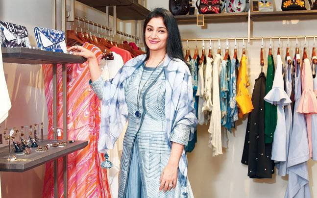 Charu Singh Chodhury left a corporate job to pursue her passion in fashion. Photo: Mail Today