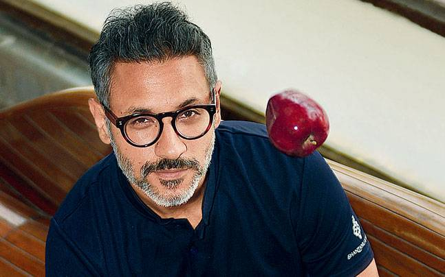 Designer Nikhil Mehra, who turned vegetarian this year, says he doesn't want to be a lazy dad but one fit enough to hang out with his kids. Photo: Mail Today
