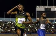 Usain Bolt wins final 100 metres race on Jamaican soil
