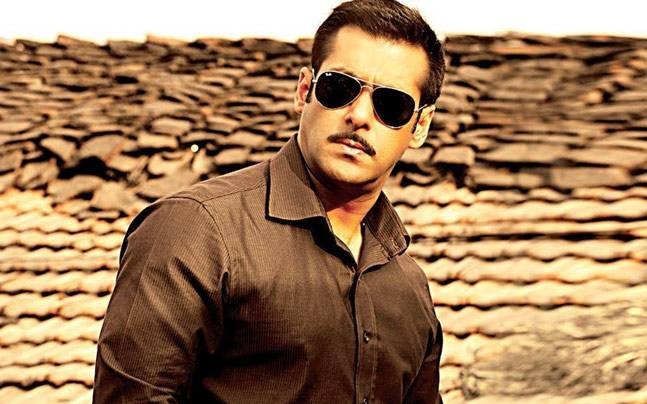 Salman Khan in a still from Dabangg