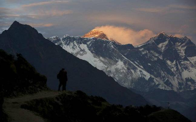 Mount Everest to be measured again. Photo courtesy: Reuters