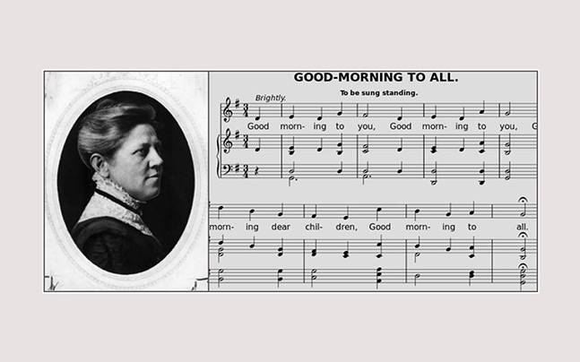 The Happy Birthday Song was written today in 1859, and it was