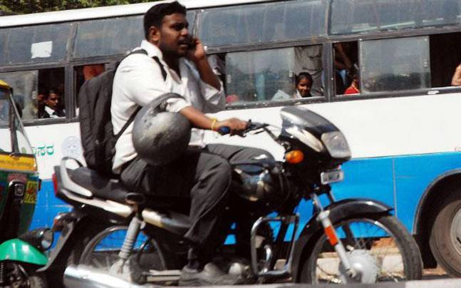 Two-wheeler riders, you could soon face heavy penalties ...