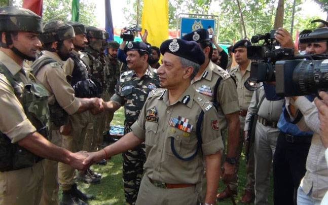 Jammu and Kashmir Director General of Police (DGP) SP Vaid