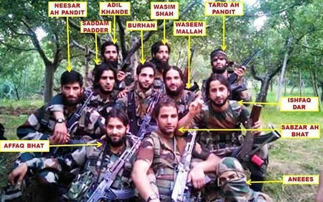 Hizbul terrorists