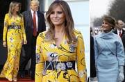 Decoding political statements Melania Trump makes through her attire