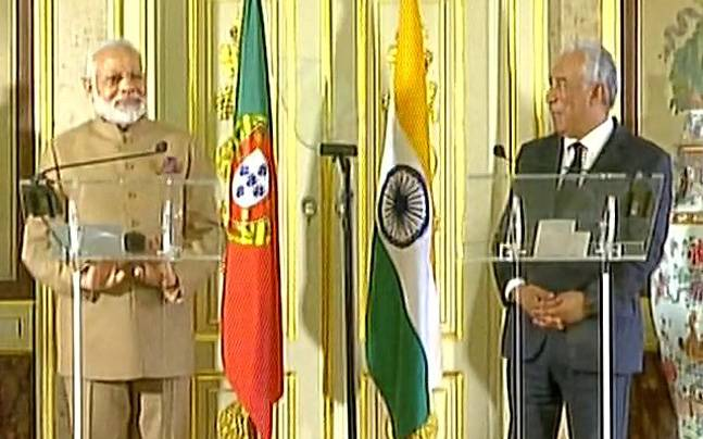 PM Modi thanks Portugal for backing India's UN Security