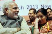 How Sushma Swaraj got in the good books of Narendra Modi in 3 years