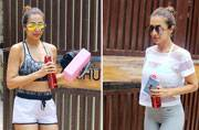 #MondayMotivation: Here are a few pictures of Malaika Arora in gym clothes