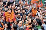 Saffron snowfall in Shimla as BJP wins municipal corporation polls