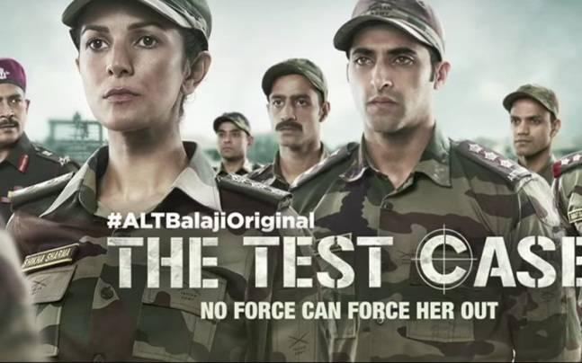 A still from Ekta Kapoor's Test Case.