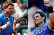 French Open: Stanislas Wawrinka to meet 9-time champion Rafael Nadal in final