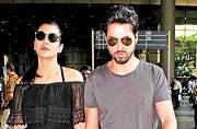 SEE PIC: Shruti Haasan clicked with rumoured beau Michael Corsale