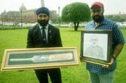 Manpreet Singh's special gift from Tony Abbott for Prime Minister Narendra Modi: A friendship bat