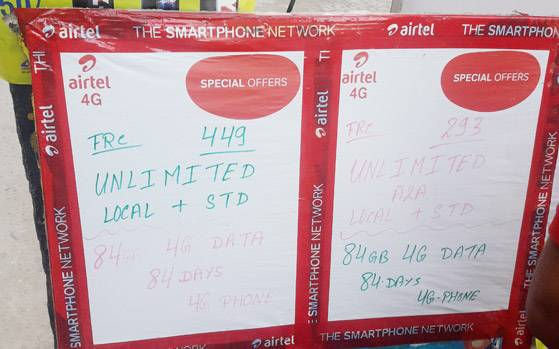 Jio effect: Airtel is now offering 84GB of 4G data at Rs 293