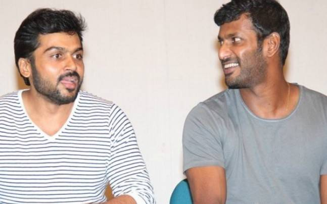 Karuppu Raja Vellai Raja: Vishal, Karthi opt out of