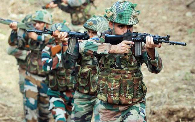 Image result for indian pakistan army