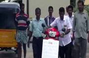 Unable to pay bribe, man leaves new bike at RTO office in Thiruppur, embarrassing officials