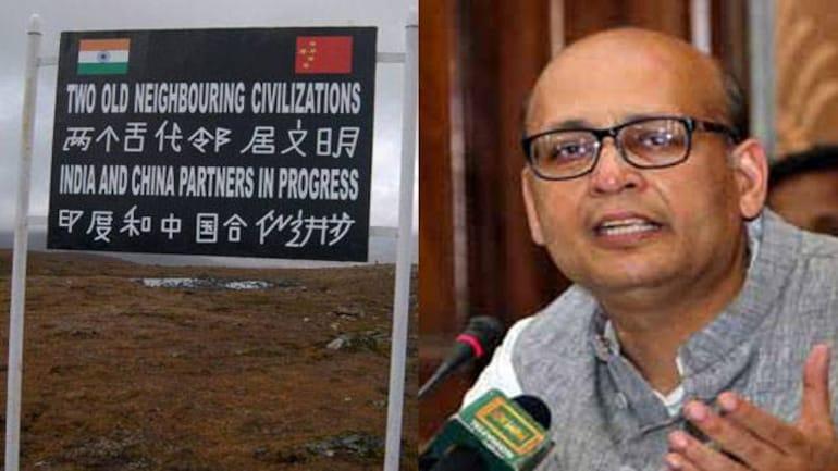 India-China border post and Congress leader Abhishek Manu Singhvi