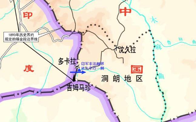 China Releases New Map Showing Territorial Claims At Stand Off Site