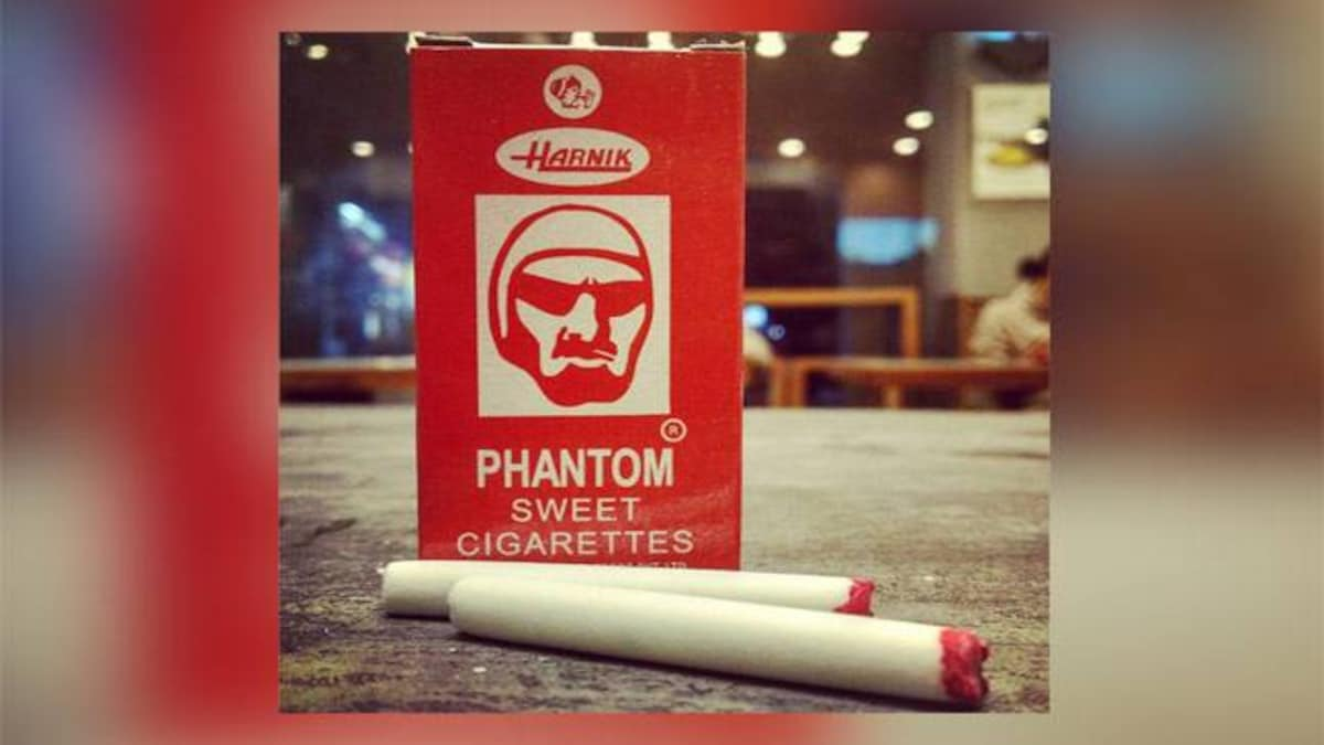The Phantom cigarettes we had as kids is the worst thing you