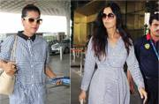 Katrina Kaif to Kajol: These celebs prove stripes is the hottest trend this season