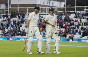 Oval Test: Alastair Cook stands firm as South Africa take honours on rain-marred day