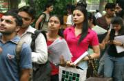 DU Admissions 2017: Dip of upto 2 percentage expected in the third cut-off