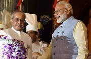 A look back at Pranab Mukherjee's differences of opinion with the Narendra Modi government