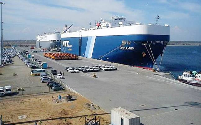 Hambantota port was developed by Sri Lanka with money borrowed from China