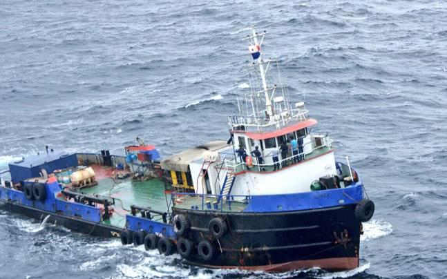 Ship carrying Rs 3,500 crore of heroin anchored near Karachi