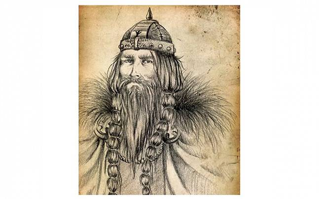 The Danish Viking king with a blue tooth who gave his name to