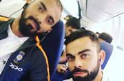Selfies galore as Team India touches down in Sri Lanka for gruelling tour
