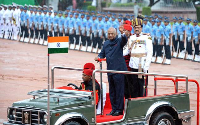 President Ram Nath Kovind is the first citizen of India.