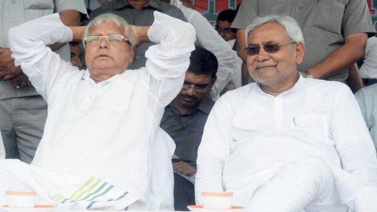 Lalu Yadav and Nitish Kumar (File photo)