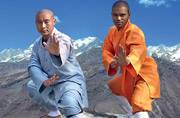 Shaolin Temple warrior monk from India makes Guinness world record with his knee strikes