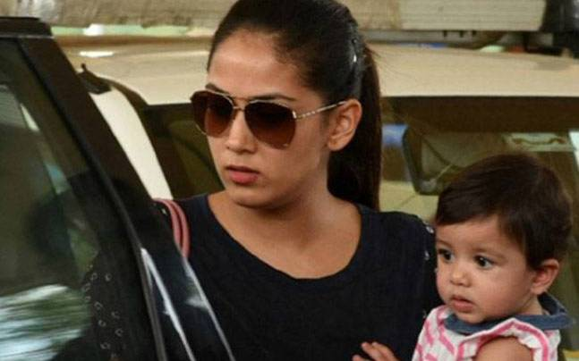 Mira Rajput with Misha